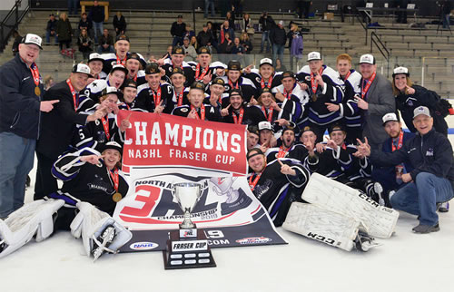 Na3hl Fraser Cup Championship North American Tier Iii Hockey