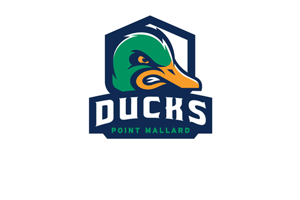 Point Mallard Ducks logo