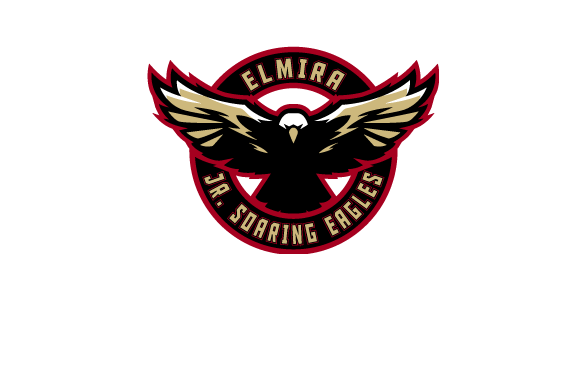 Elmira Jr. Soaring Eagles logo