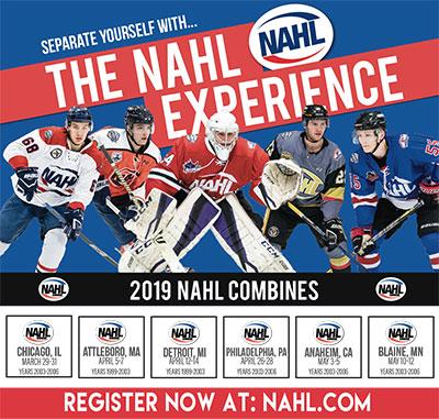 Nahl Combines Begin In One Month North American Tier Iii Hockey
